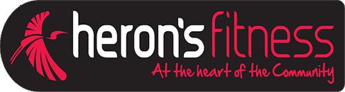herons fitness logo