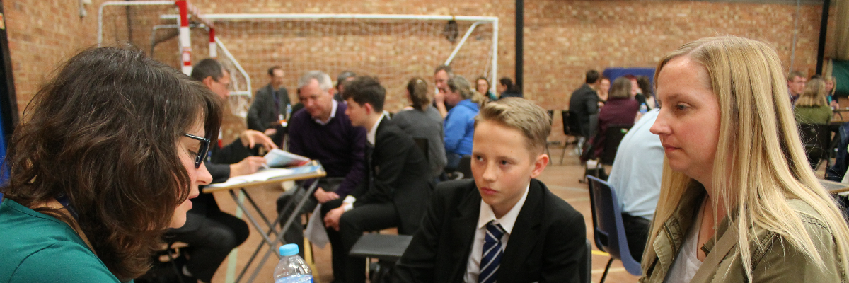Y8 Parents' Evening